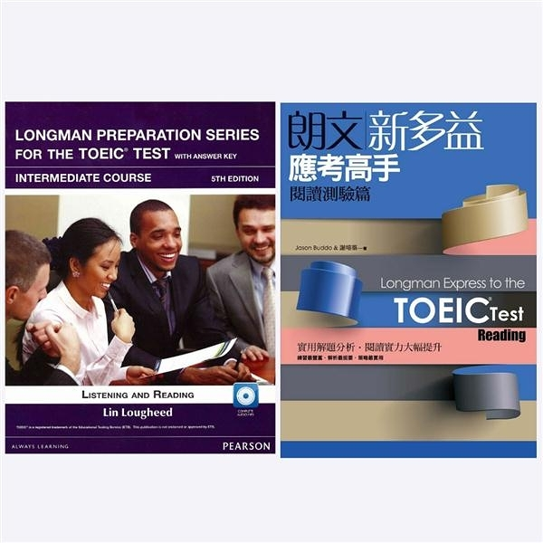 Longman Preparation Series for the TOEIC Test: Intermediate Course, 5/E+..