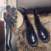 館長推薦☛短靴新款學生厚底女靴機車馬丁靴