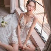 睡衣女夏性感情趣極度誘惑少女蕾絲吊帶睡裙老公裙騷火辣成人大碼『小宅妮時尚』