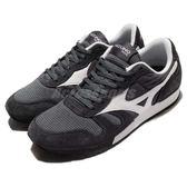【六折特賣】Mizuno 復古慢跑鞋 ML87 黑 白 基本款 女鞋【PUMP306】 D1GA1703-08