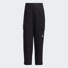 Adidas TECH PT 女裝 長褲 休閒 工裝 可調節褲口 寬鬆 口袋 黑【運動世界】GP0608