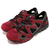 Merrell 戶外鞋 Tetrex Crest Wrap 水陸鞋 越野 慢跑 透氣 運動鞋 紅 灰 男鞋【PUMP306】 ML12847