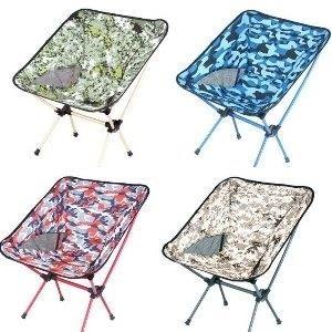 巨安網購?【GT107041825】戶外野營折疊椅子便攜月亮椅釣魚椅