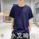 男士短袖t恤2020新款夏季新款日系純棉上秋裝潮流半袖內搭打底衫 小艾新品