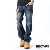 Big Train 日式潮人經典垮褲-中藍-BM6107