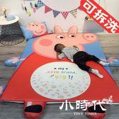 遊戲地墊-兒童布質方形動物造型游戲墊毛絨玩具爬爬墊爬行墊防滑地墊可拆洗