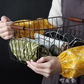 日式棉麻袖套 文藝廚房防污袖套辦公室工作防臟護袖日常家務袖套 盯目家