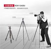 三腳架碳纖維雲台佳鑫悅攝影相機支架專業輕穩便攜單反三角架CY『新佰數位屋』