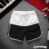 運動短褲男跑步健身夏季休閒五分褲薄款速幹寬鬆訓練籃球三分短褲  Cocoa