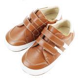 Swan天鵝童鞋-百搭皮質休閒學步鞋 1484-咖