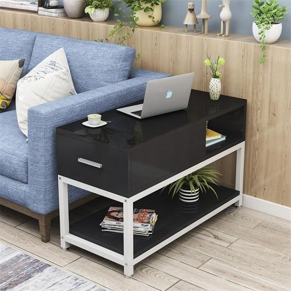 簡約客廳邊角幾小茶幾小桌鋼化玻璃沙發邊櫃側邊櫃沙發扶手櫃邊桌 雙十二全館免運