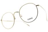 CARIN 光學眼鏡 BREEZE C1 (金) 韓星秀智代言 質感簡約鏡框 # 金橘眼鏡