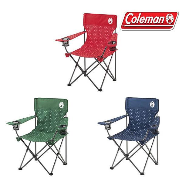 [Coleman] 渡假休閒椅 - 圓點紅、原點綠、原點海軍藍 (CM-26734、CM-26735、CM-26736)