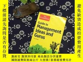 二手書博民逛書店Guide罕見to Management Ideas and G