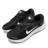 Nike 慢跑鞋 Wmns Air Zoom Structure 23 黑 白 女鞋 針織鞋面 緩震 運動鞋 【ACS】 CZ6721-001