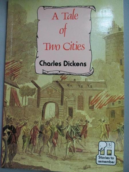 【書寶二手書T2/原文小說_GWI】Tale of Two Cities(雙城記)_Dickens Charles