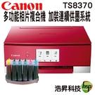 【加裝連續供墨系統】Canon PIXMA TS8370多功能相片複合機