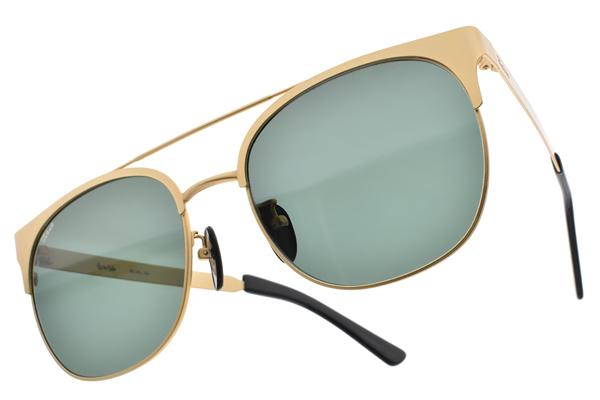 FAKE ME 太陽眼鏡 SILVIO GLD (金) 韓系復古流行款 # 金橘眼鏡