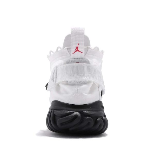 Nike 籃球鞋 Jordan Proto-React 白 黑 高筒 REACT 中底 男鞋 運動鞋【PUMP306】 BV1654-100