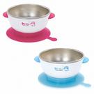 【奇買親子購物網】酷咕鴨KU.KU.不銹鋼隔熱吸盤碗(藍/ 粉)