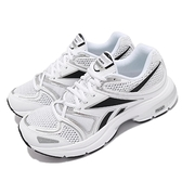 Reebok 慢跑鞋 Premier Road Plus VI 白黑 男鞋 女鞋 復古 DMX避震 【ACS】 G58597