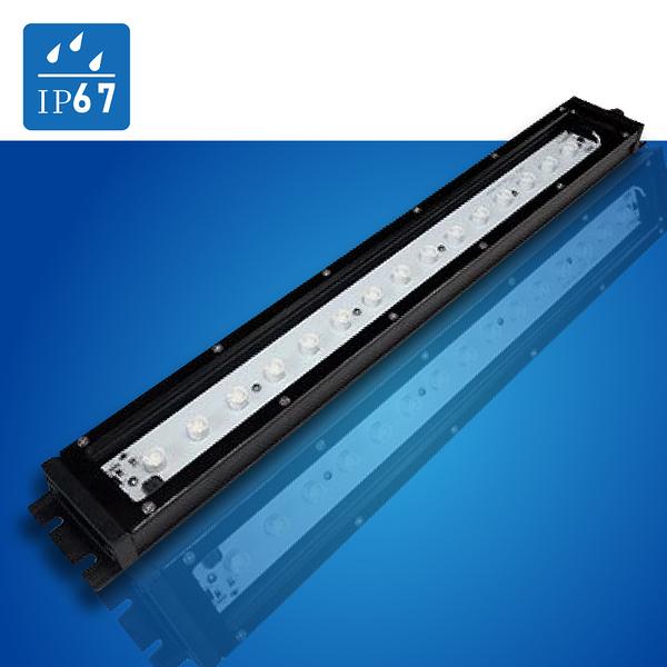 (日機) LED鏡頭式 NLE26CN-DC 照度3350 lx 光通量1900lm 20W IP67 電線長度3m