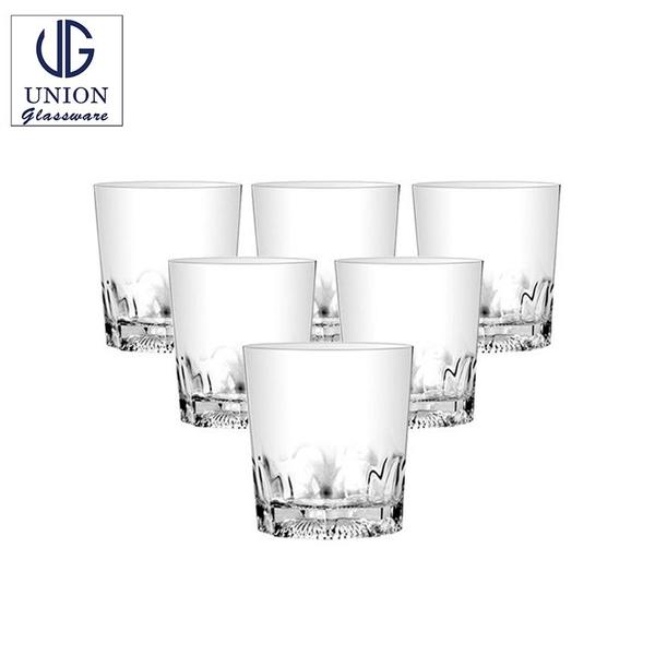 泰國UNION Janie花底杯 266ml 烈酒杯 玻璃杯 酒杯 威士忌杯 水杯