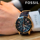 FOSSIL 極致品味時尚腕錶 FS52...
