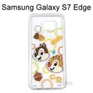 迪士尼透明軟殼[形狀]奇奇&蒂蒂 三星 G935FD Galaxy S7 Edge【Disney正版授權】