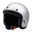 【東門城】EVO 智同 CA-309 騎士復古帽精裝版(消光銀) 小頭帽
