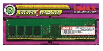 【超人百貨X】UMAX 桌上型記憶體 DDR4 2400 8GB 1024*8 CL17 1.2V