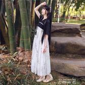 新漢元素古裝服裝齊胸襦裙古風洋裝仙女裝唐裝學生日常改良漢服     米娜小铺