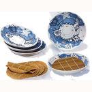 日本進口貝殼5客麵盤組 可當贈品 餐盤