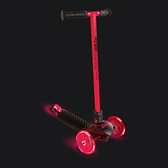 YVOLUTION 發光平衡滑板車-入門款 紅