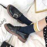 娃娃鞋女 英倫風復古小皮鞋女夏秋季新款韓版學生大頭娃娃鞋原宿風單鞋 俏女孩