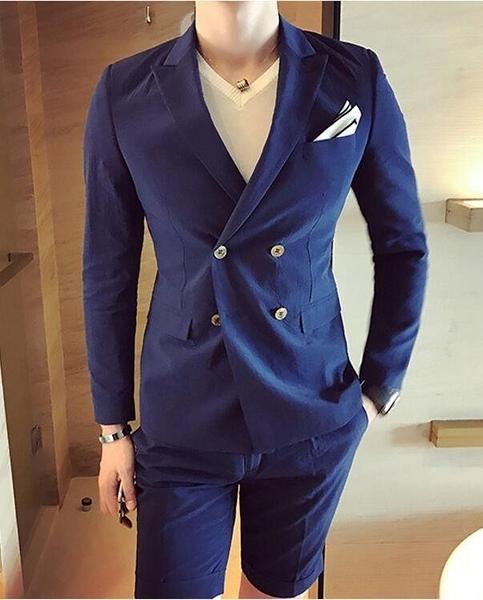 FINDSENSE品牌 韓國男 舒適皺感 小西裝 修身西裝 西裝外套 單件外套