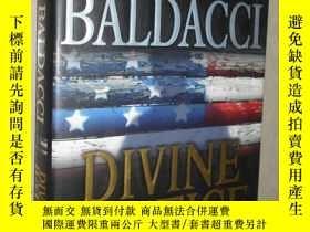二手書博民逛書店英文原版罕見Divine Justice by David Ba