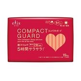 日本大王elis愛麗思 COMPACT GUARD GO可愛日用超薄25cm(19片/包)x1