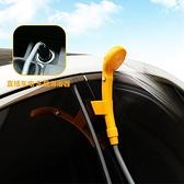 戶外車載淋浴器洗澡神器12V便攜式自駕露營房車點煙器野外汽車用 「雙10特惠」