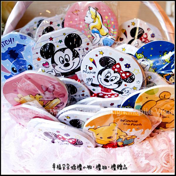 迪士尼棒裝便條紙(多款可挑)--實用婚禮小物 米奇米妮 愛麗絲 史迪奇 小熊維尼 玩具總動員