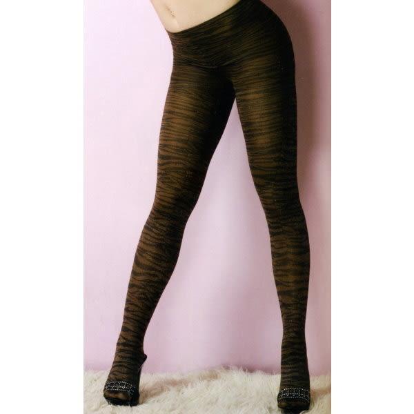 褲襪(P&W)30002-咖啡斑紋-F