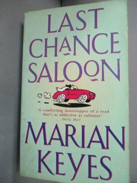 【書寶二手書T4/原文小說_IOT】Last Chance Saloon_Marian Keyes