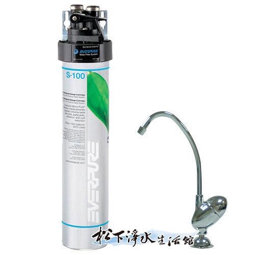 Everpure 愛惠浦家用標準型淨水器(QL3-S100)【濱特爾公司貨】
