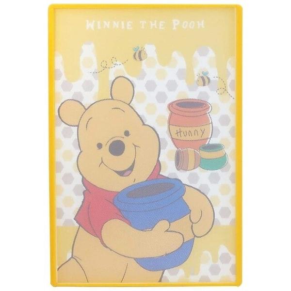 小禮堂 迪士尼 小熊維尼 日本製 方形抗菌砧板 (黃蜂蜜款) 4984909-40247