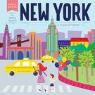 Hello World : NEW YORK:A BOOK OF COLORS /硬頁書《城市概念書》