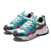 SKECHERS D'LITES 3.0 白 蒂綠 粉紫麂皮 老爹鞋 休閒鞋 女 (布魯克林) 12955TQPK