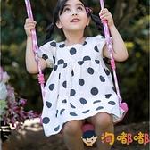鞦韆室內兒童家用室外戶外庭院吊椅蕩單杠家庭吊繩免打孔【淘嘟嘟】