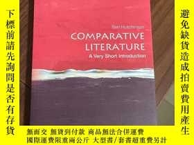 二手書博民逛書店Comparative罕見Literature: A Very Short IntroductionY3249