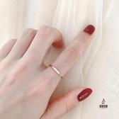 戒指小長方形關節食指尾戒指女【愛物及屋】