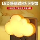自動調節小夜燈 感應夜燈 感光夜燈 LED小夜燈 感應燈 智能夜燈 夜燈【RS1036】